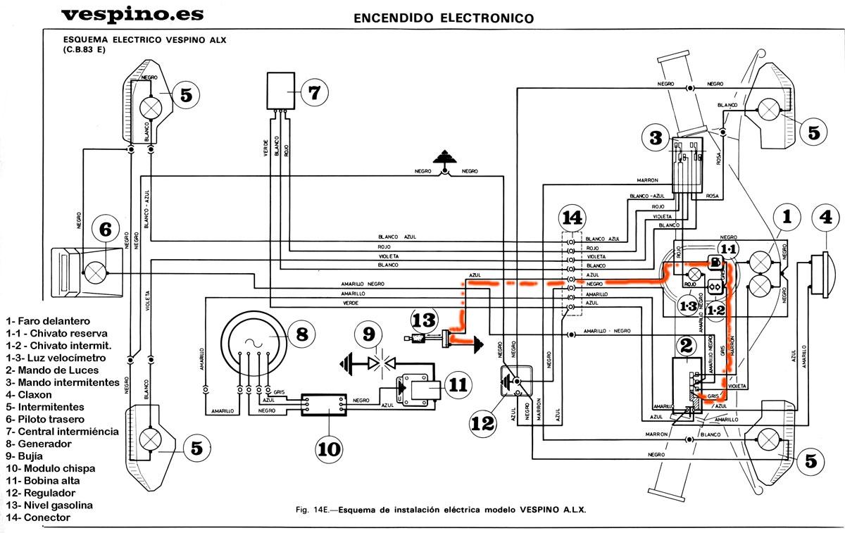 diagrama de un relay para 2 claxon por separado